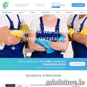 Sprzątanie w Warszawie24 to lokalna firma sprzątająca mieszkania i domy w Warszawie. Specjalizujemy się w świadczeniu usług dla klienta indywidualnego i klienta biznesowego. Wyróżnia nas wysoka kultura osobista oraz zrozumienie potrzeb klienta w zakresie sprzątania i jego prywatności. Doświadczony personel wykona usługi w zakresie sprzątania mieszkań i domów w Warszawie. Wykonujemy regularne sprzątanie mieszkań, sezonowe mycie okien, mycie żaluzji, mycie szklanych balustrad na balkonie, mycie zabudowy balkonu. Wyróżnia nas dokładność i dobra organizacja pracy sprzątania. Podstawowy zakres sprzątania mieszkania obejmuje: starcie kurzy, odkurzanie podłóg, umycie podłóg, umycie drzwi, sprzątanie kuchni, sprzątanie łazienki. W zakresie mycia okien wesprzemy klientów w sezonowym jak i w jednorazowym myciu okien. Do mycia okien zapewniamy środki i specjalistyczny sprzęt, który świetnie się sprawdza w trudnych miejscach, takich jak mycie zabudowy balkonu czy też mycie szklanej balustrady na b
