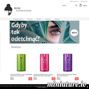 XUXU To jedyna i niepowtarzalna drogeria internetowa, w której znajdziecie koreańskie kosmetyki najwyższej jakości.  Nadszedł czas na innowacyjne rozwiązania!